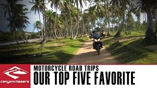 Top Five Best Motorcycle Sport Touring Road Trips