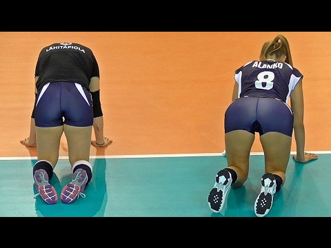 Volleyball Girls Funny Cat Stretchиз YouTube · Длительность: 56 с