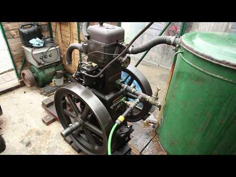 Lister 6/1 CS Diesel Engine 1936