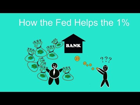 How the Federal Reserve Banks Causes Inequality