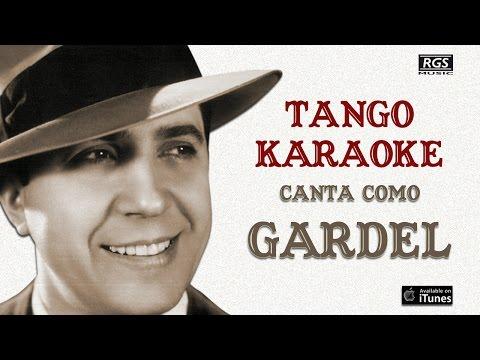 Melodia de Arrabal. Cantá como Carlos Gardel. Tango karaoke