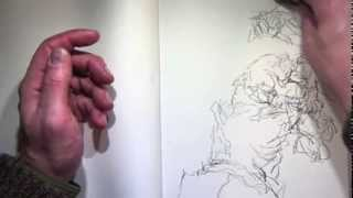 How to Draw- Pure Contour Hand