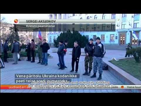 Estonian Television crew in Crimea