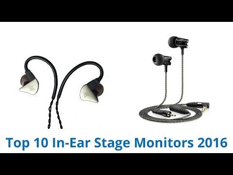 10 Best In-Ear Stage Monitors 2016
