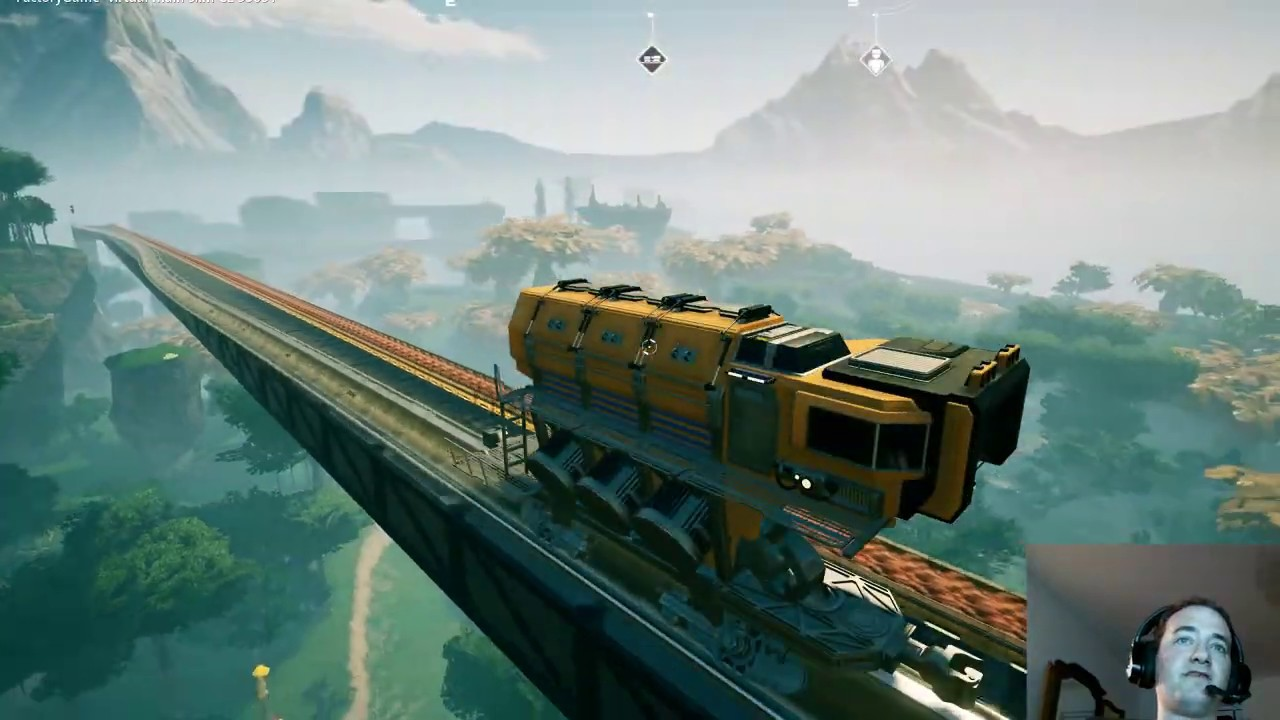 SATISFACTORY GAME TRAINS, TRAINS AND TRAINS!!!!!!