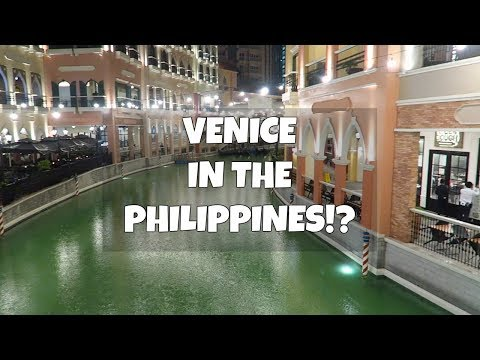 Venice Grand Canal Mall Tour from Megaworld