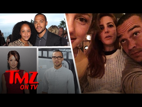 Jesse Williams – Hanging with Minka Kelly!  TMZ TV