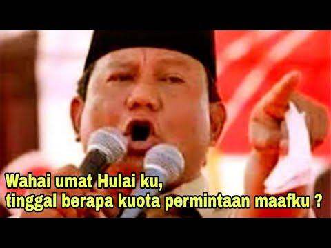 [Buni mana Buni] Lagi, Prabowo salah sebut nama Tuhan