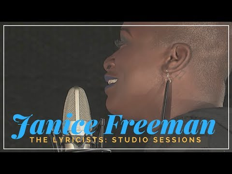 The Lyricists: Studio Sessions | Janice Freeman (from The Voice) -