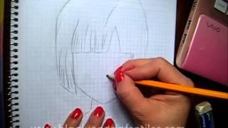 Cómo dibujar a Bulma