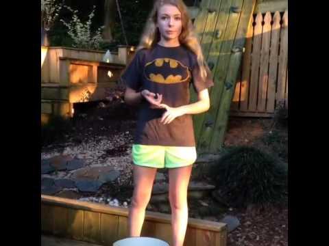 Addy Miller  Ice bucket challenge