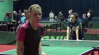 Дарья АЗАРЕНКОВА - Валентина САБИТОВА Настольный теннис, Table Tennis