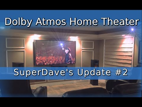 Update #2 - SD's Dolby Atmos® 4K Home Theater