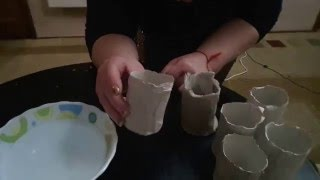Как делать горшочки для рассады(Горшочки для рассады цветов и овощей можно делать с туалетной бумаги,наматывая на стакан и смачивая водой,н..., 2016-03-11T17:57:21.000Z)