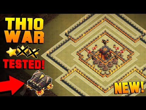 BEST TH10 War Base w/ GEARED CANNON!! | CoC Town Hall 10 ANTI 2 STAR BASE + PROOF! | Clash of Clans