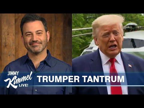 Jimmy Kimmel's Quarantine Monologue – Trump's Whistleblower Tantrum & Stupidity on Parade