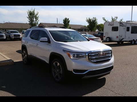 Brand new 2017 GMC Acadia SLT-2 for sale in Medicine Hat, AB