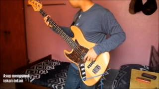 Hujan - Neon bass cover + Lyrics