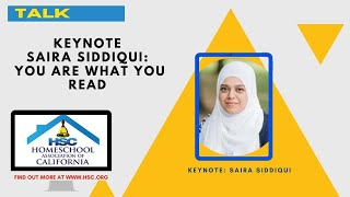 HSC 2020 Virtual Conference Keynote Saira Siddiqui: You Are What You Read