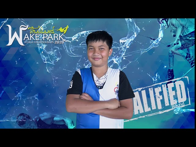 Kanok Kraithong - Boys Under 13 yo Wakeboard