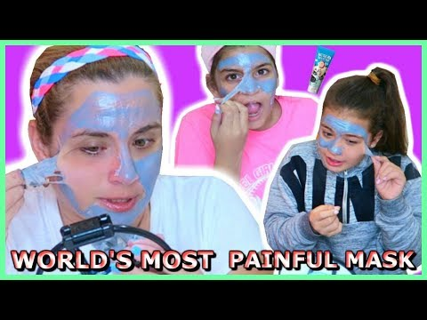 """WORLD'S MOST PAINFUL MASK / HELL PORE CLEAN UP FACE MASK """"SISTER FOREVER"""""""