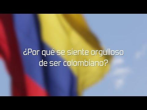 ¿Por qué se siente orgulloso de ser Colombiano