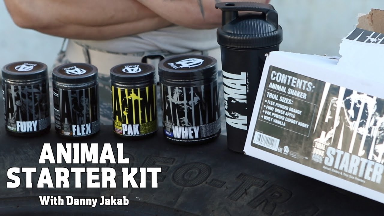 Animal Starter Kit with Danny Jakab - The Official Animal Pak page 2018-11-14 17:21