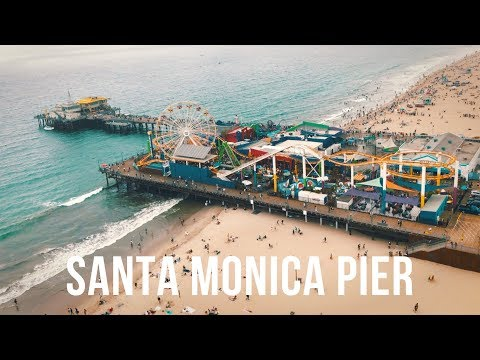 SANTA MONICA PIER - Travel Film - Panasonic G7
