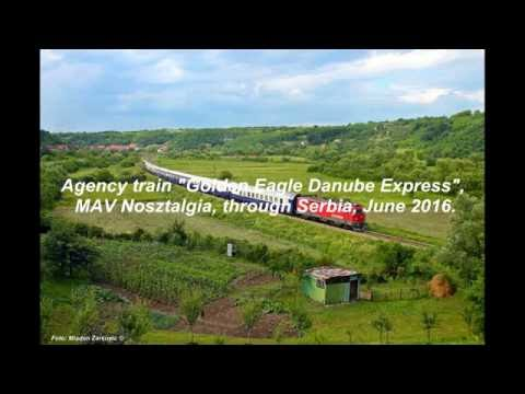 "Agency train ""Golden Eagle Danube Express"" Mav Nosztaliga"