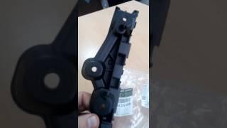 кронштейн крепления бампера к рено логан/сандеро, ремонт бампера обзор запчастей