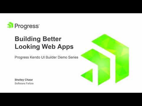 Using Custom Templates for Kendo UI Builder - Videos - Progress