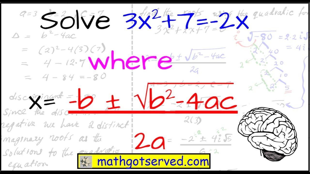 How to use the quadratic formula discriminant regents ...