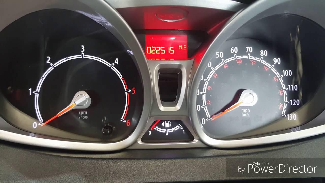 2011 Ford Fiesta Diesel Oil Light Reset Service Light Reset