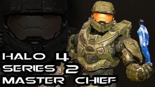McFarlane Halo 4 Series 2 MASTER CHIEF Figure Review