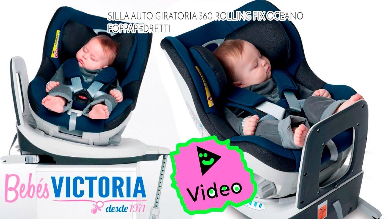 Silla auto giratoria 360 youtube for Silla coche nino 4 anos