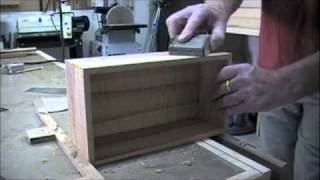 Woodworking Project - How To Make A Jewelry Box - Part 3 - Assembly & Clamping Miter Joints