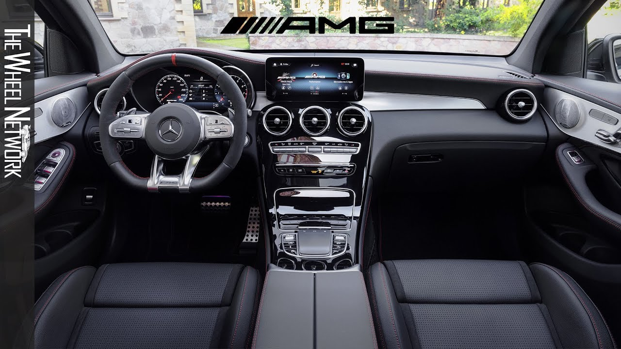 2020 Mercedes-AMG GLC43 4MATIC Coupe Interior - YouTube