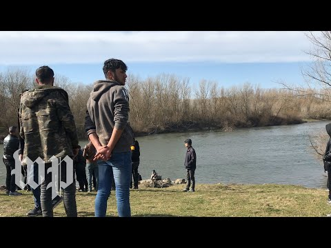 Hear from migrants stranded at the Turkey-Greece border
