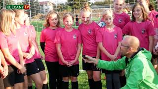 Dívčí fotbalový tým TJ Sokol Klecany (20. 10. 2020)