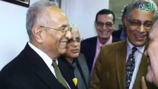 بالصور.. «البدوي وأبو شقة» يفتتحان قاعة تحرير جريدة الوفد الجديدة