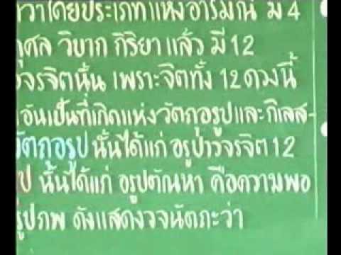 พระอภิธรรม-ปริจเฉทที่ 1 จิตตสังคหะ แผ่นที่ 16/18