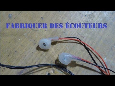 Comment fabriquer des ecouteurs diy earphones youtube - Comment nettoyer ses ecouteurs ...