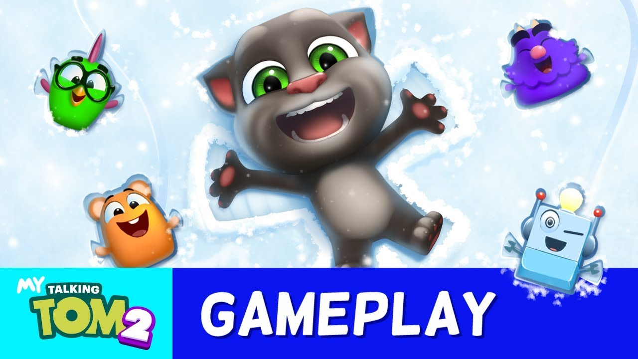 🎨 NEW Colouring Book In My Talking Tom 2 Ficial Gameplay