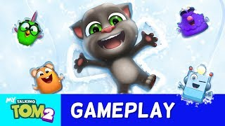🎨 NEW Colouring Book in My Talking Tom 2 (Official Gameplay)
