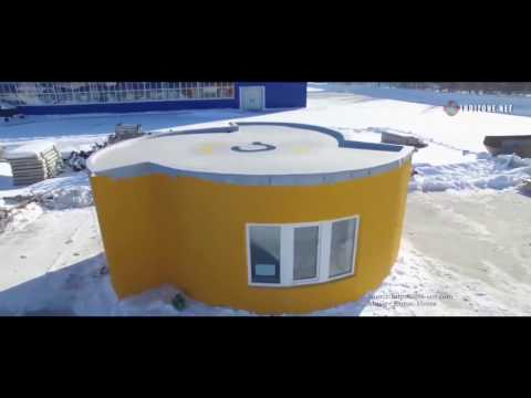 3D Printed House Took Under 24 Hours To Build Amazing