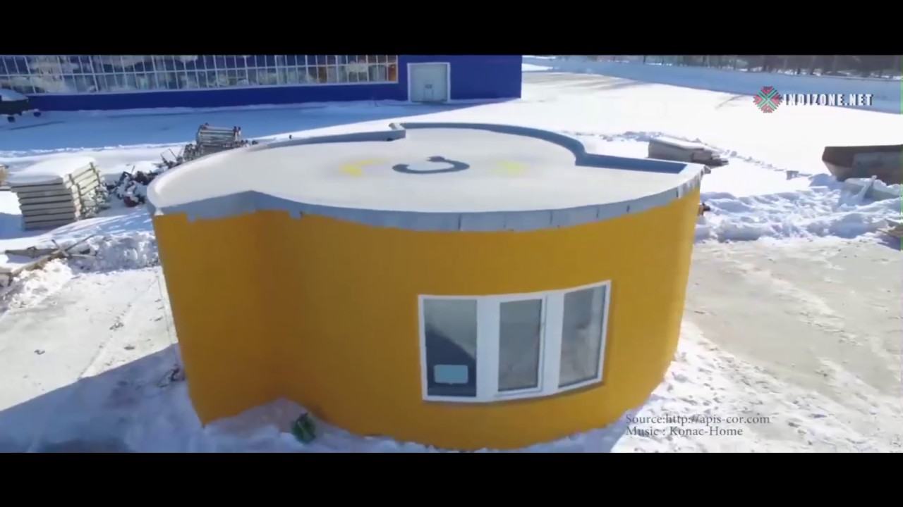 3d printed house took under 24 hours to build amazing - Buy 3d printed house ...