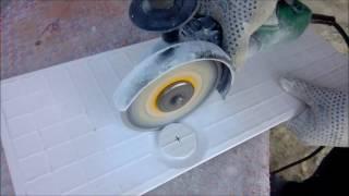 Как сделать отверстие в плитке под трубу или розетку