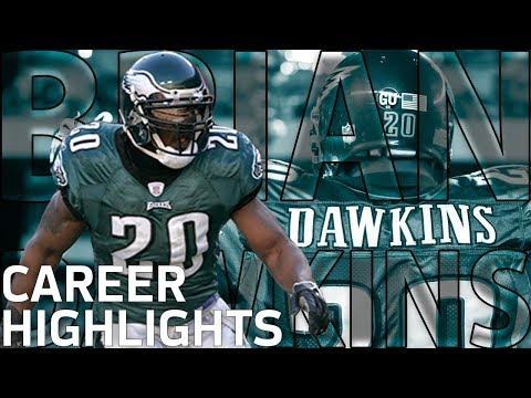 Brian Dawkins: A Career full of Big Hits & Great Picks | NFL Legends Highlights