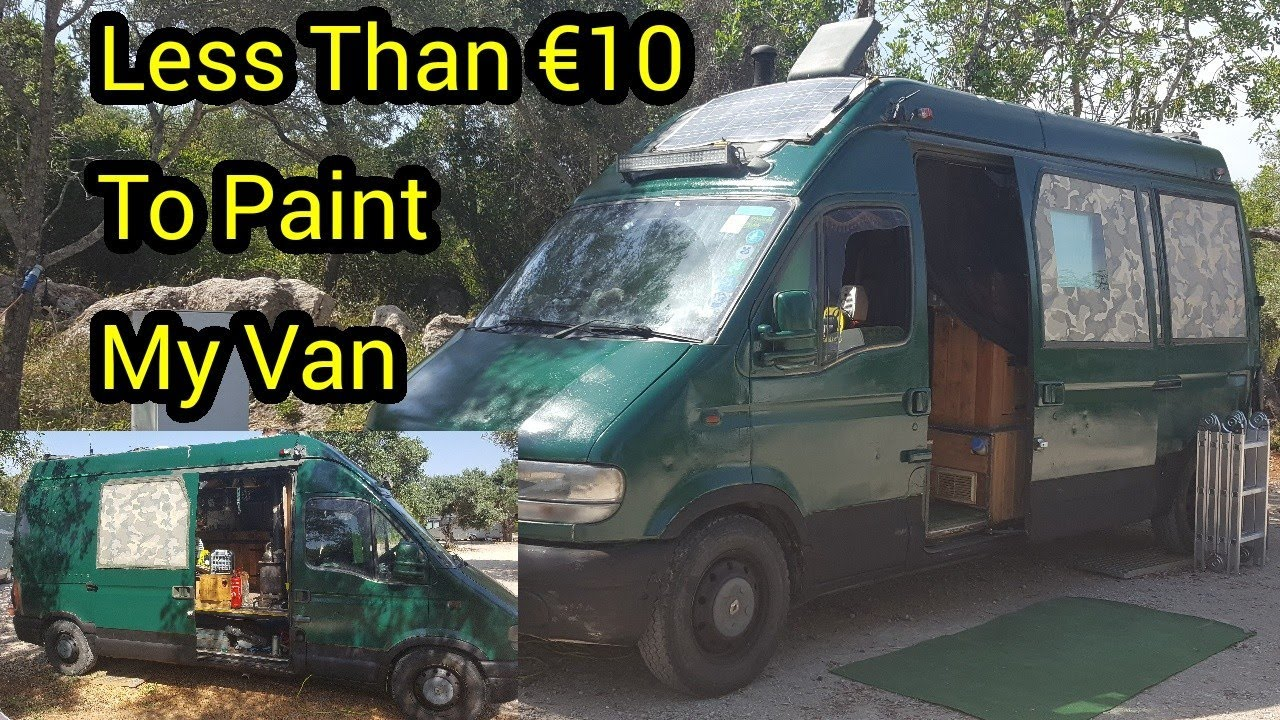I Painted My Van For Less Than The Cost Of A Box Of Beer