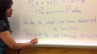 P-Value Easy Explanation